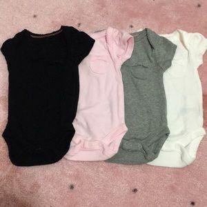 4 pack newborn onesies